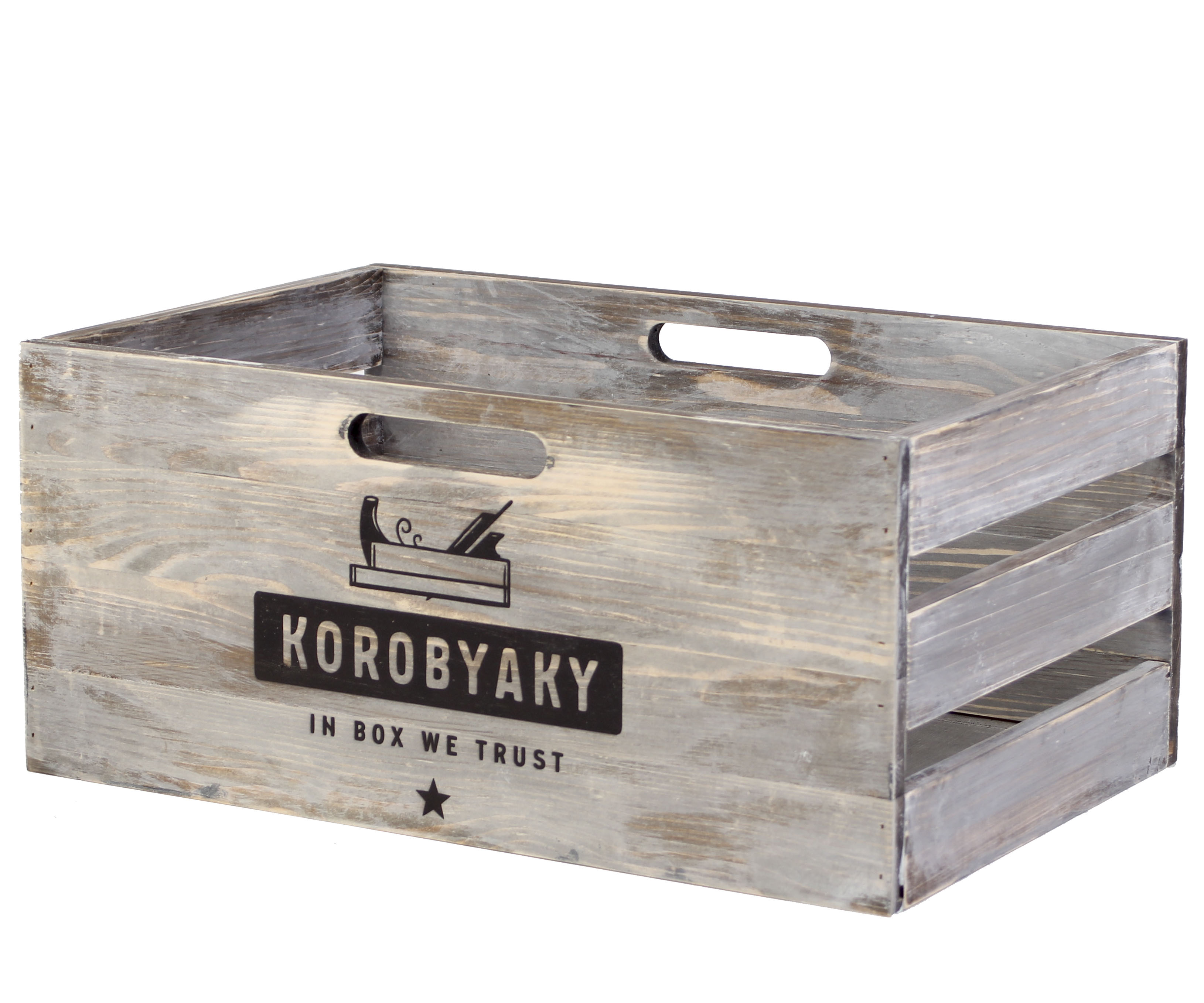 Ящик для хранения овощей и фруктов средний Тистед Миди
